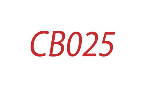 CB 025 Logo